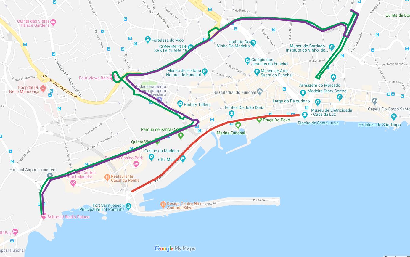 Interrupção de trânsito no Funchal no dia 10 de maio