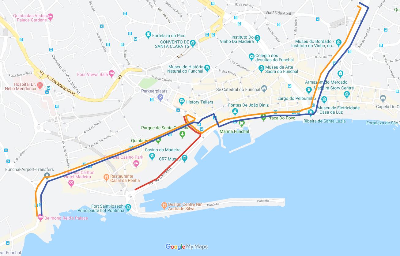 Interrupção de Estrada no Funchal dia 14 de junho de 2019