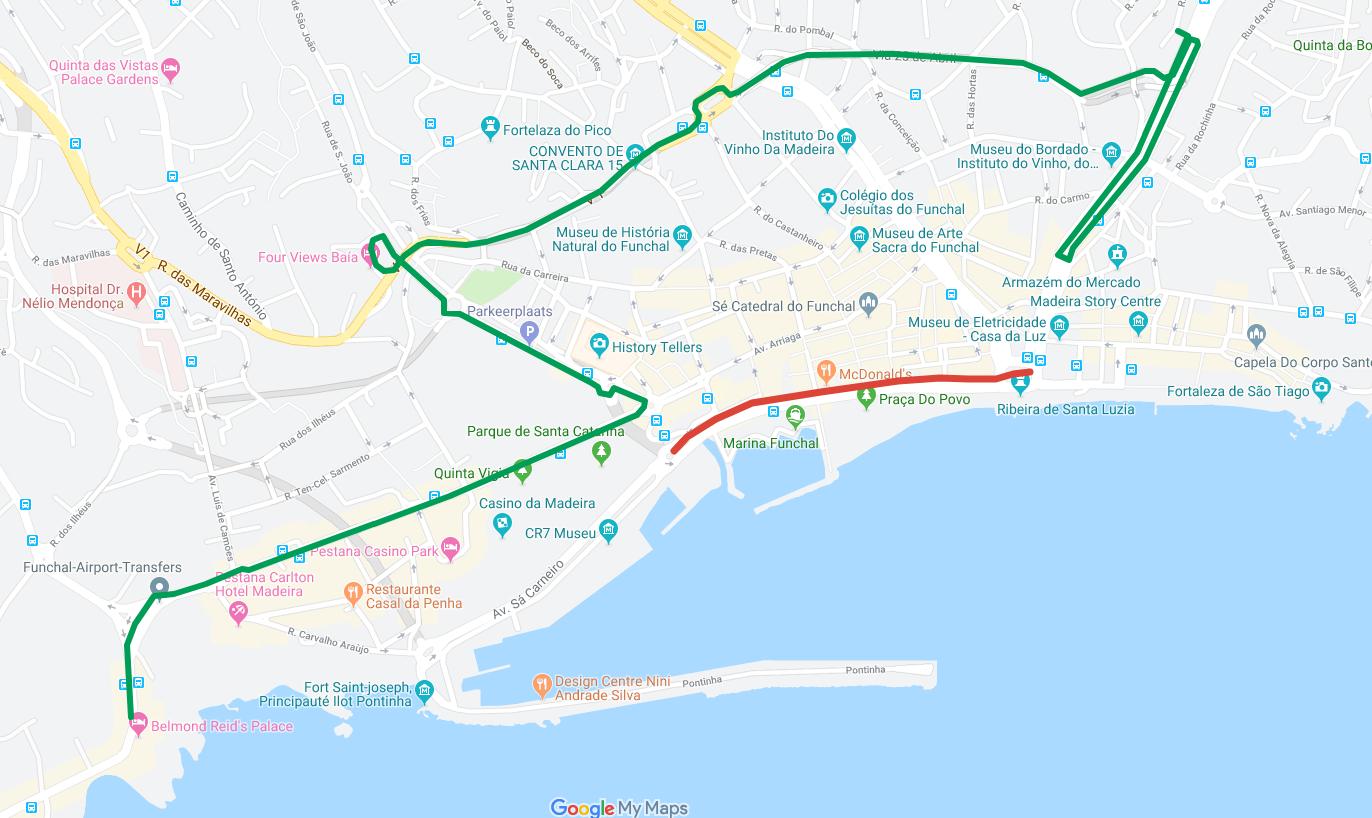 Interrupção de Estrada no Funchal dia 20 de junho