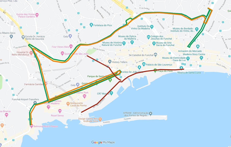 Interrupção de Estrada no Funchal - RALI