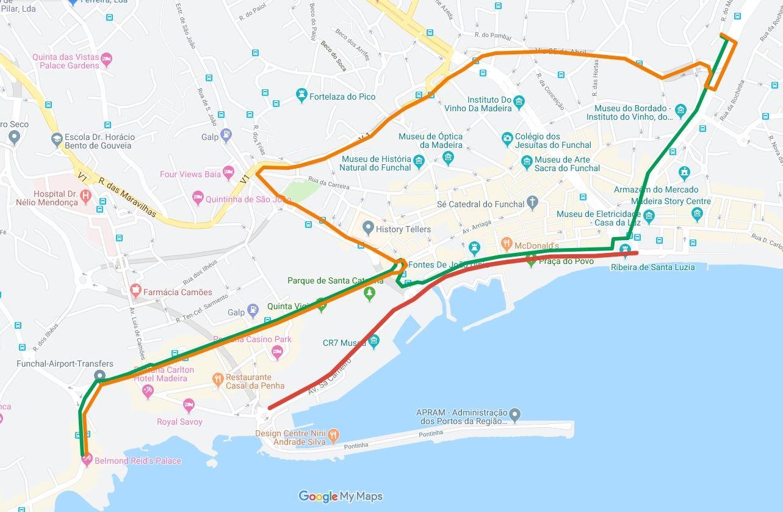 Interrupção de Estrada no Funchal dia 31 de agosto