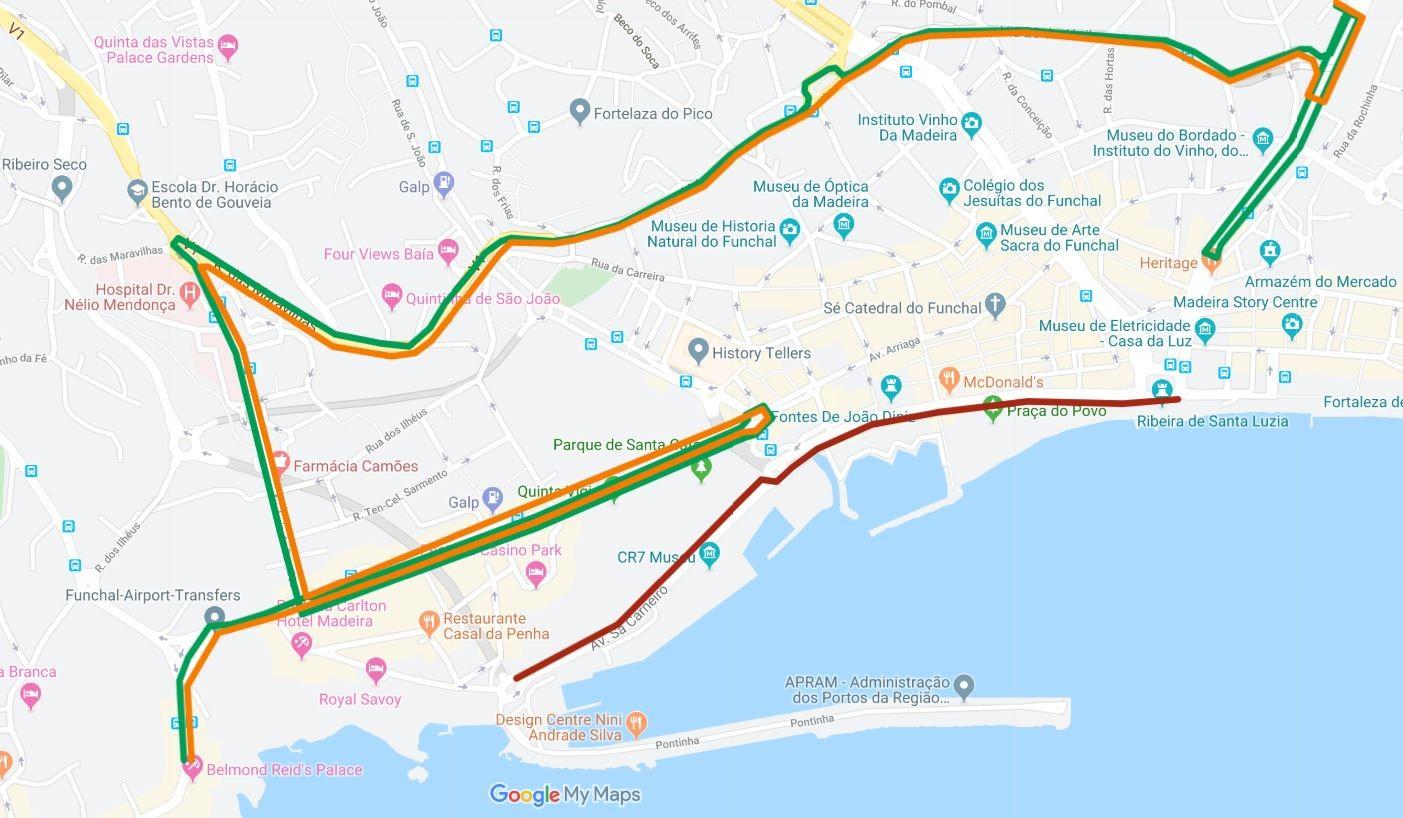 Interrupção de trânsito no Funchal - 19 e 20 outubro