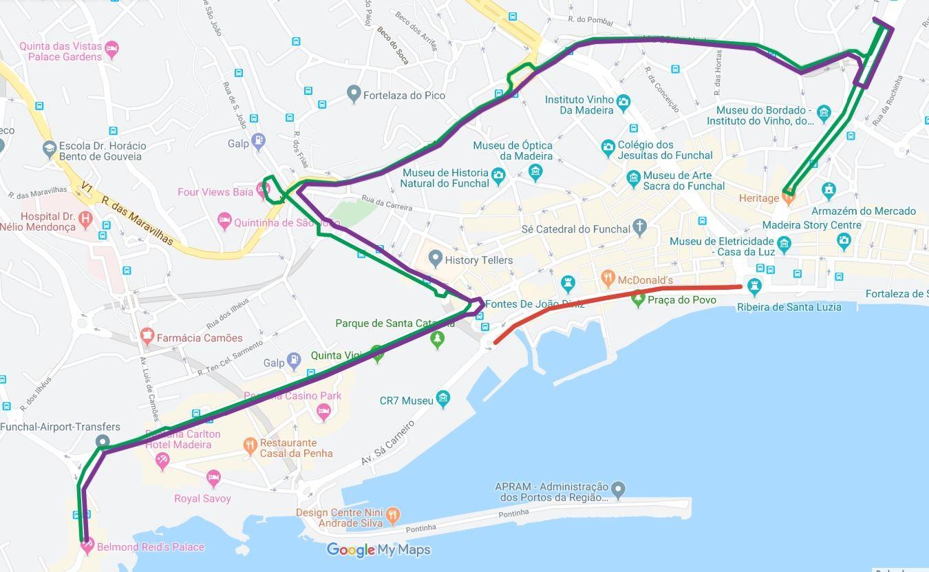 Interrupção de trânsito no Funchal no dia 27 de outubro